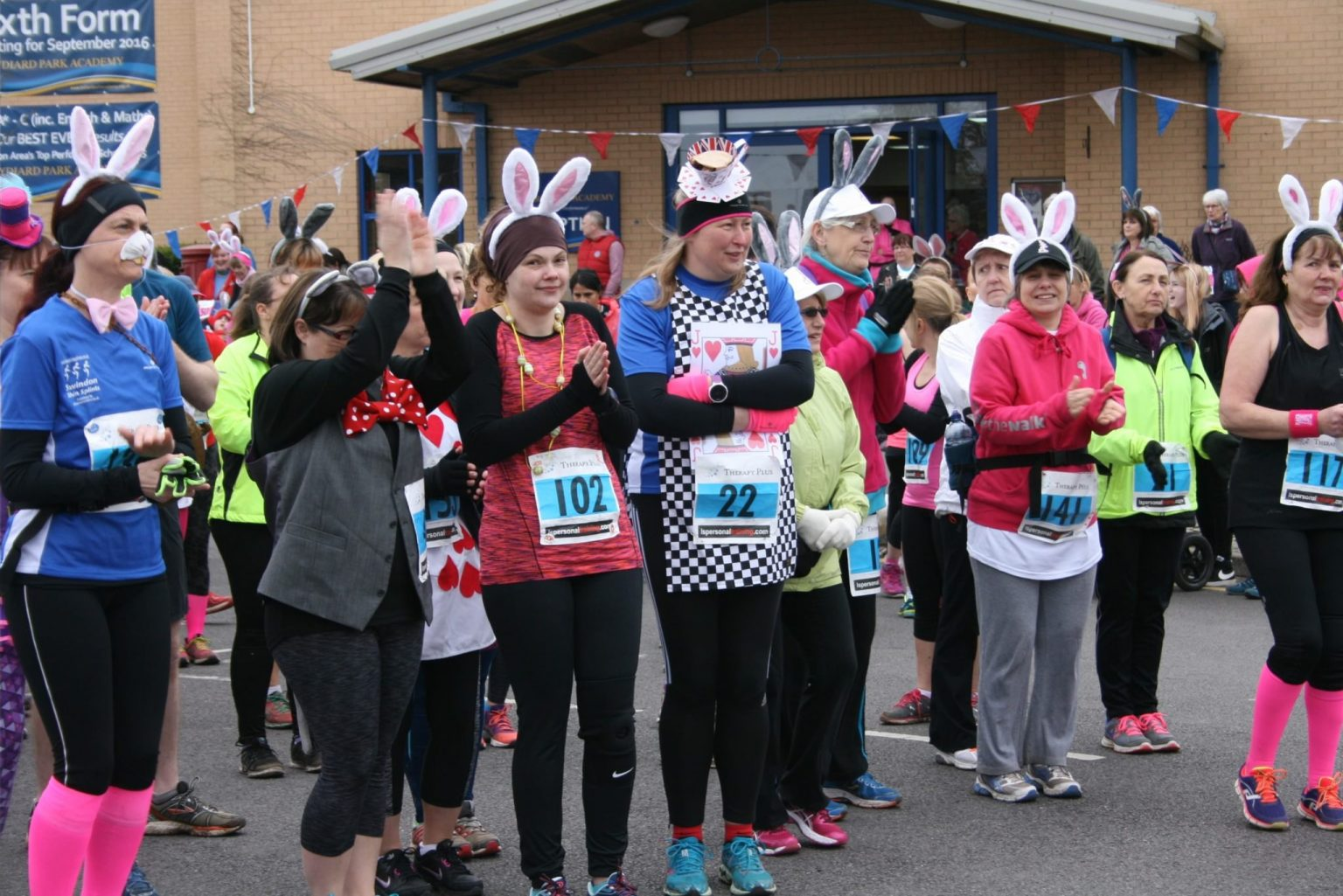Sign up for Mad March Hare and You're Virtually There!