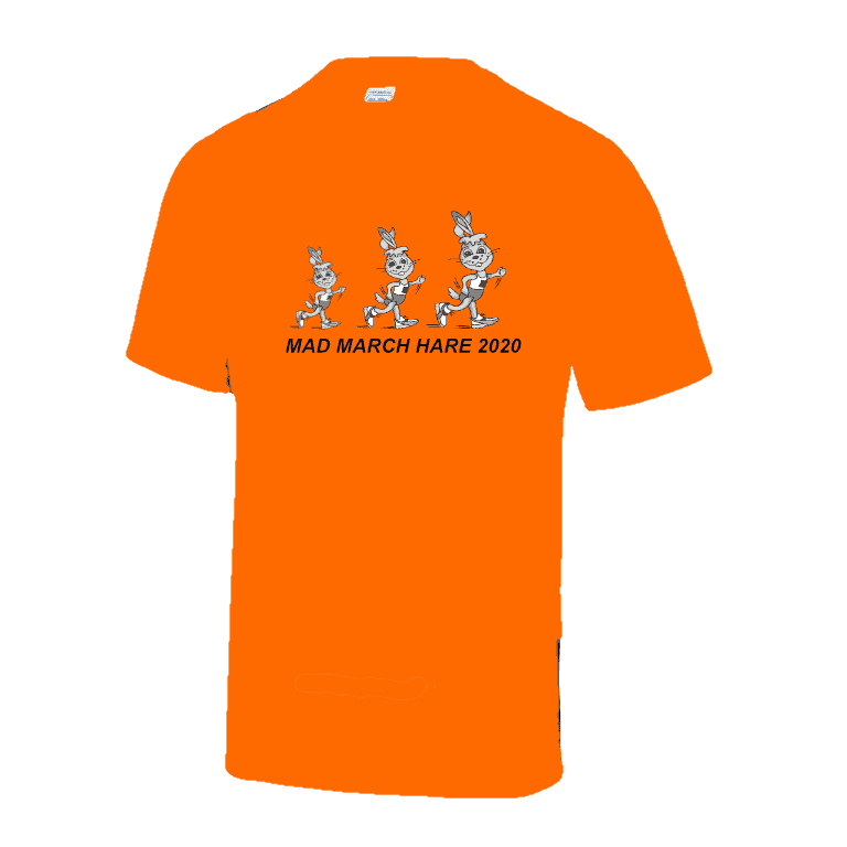 Mad March Hare 2020 T-Shirts available to order
