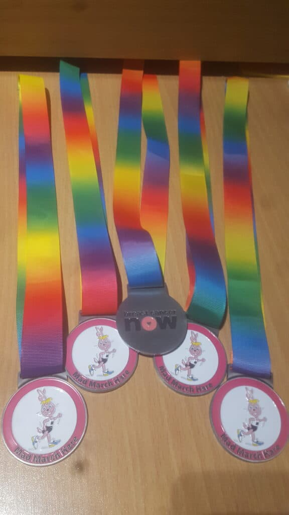 Mad March Hare 2021 Medals